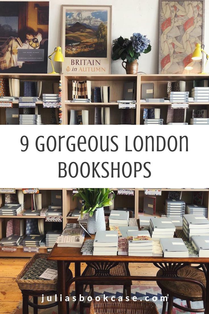 9 Gorgeous Bookshops in London