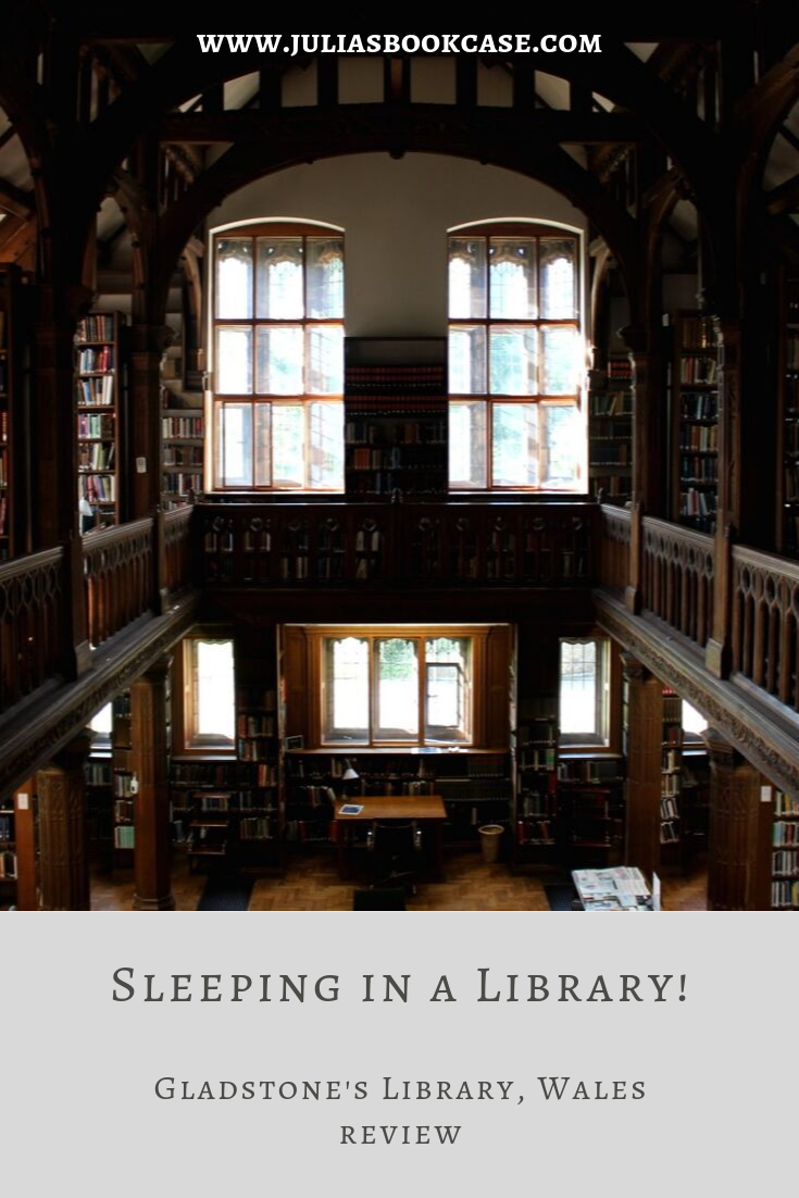 A review of Gladstone's Library, Wales. The UK's only residential library!