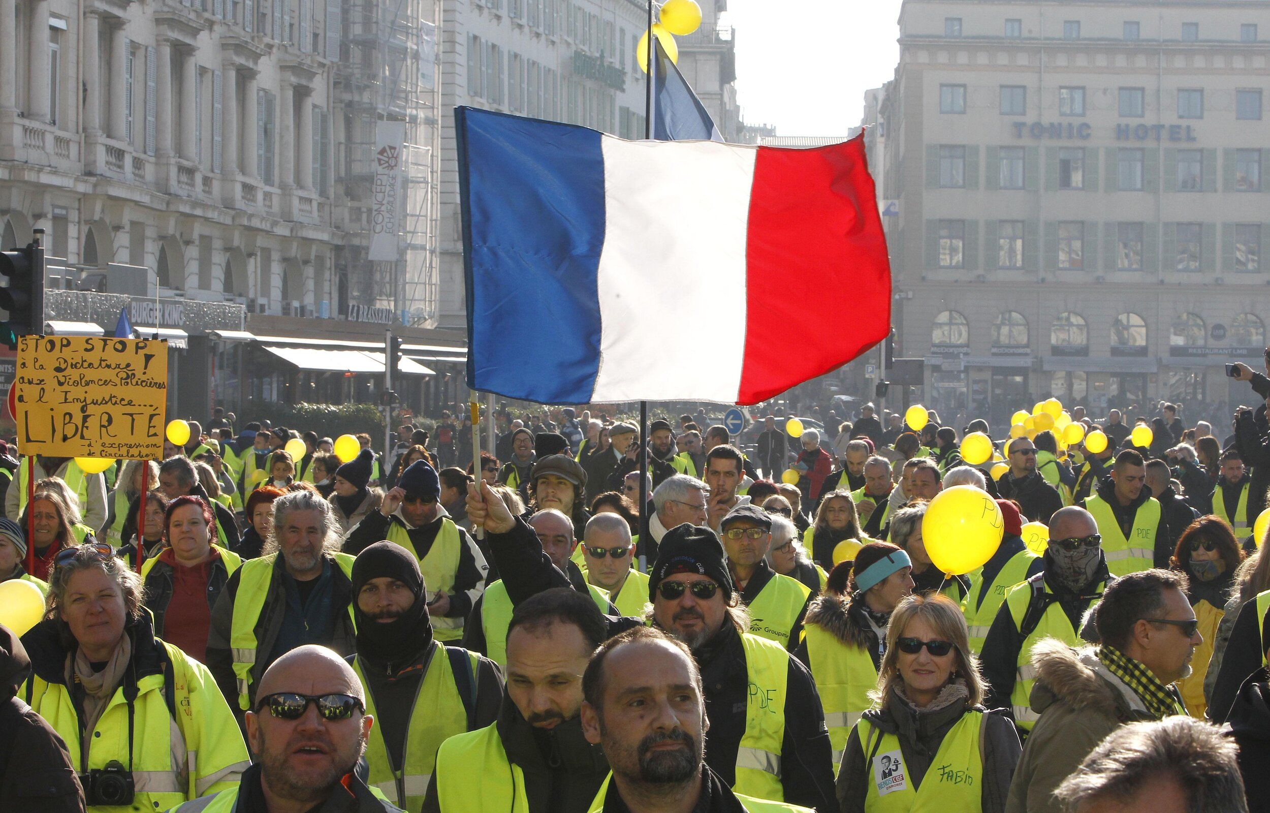 Gilets Jaunes Protests