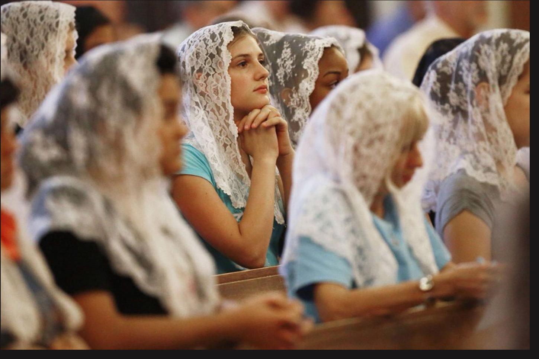 Latin Mass Attendees