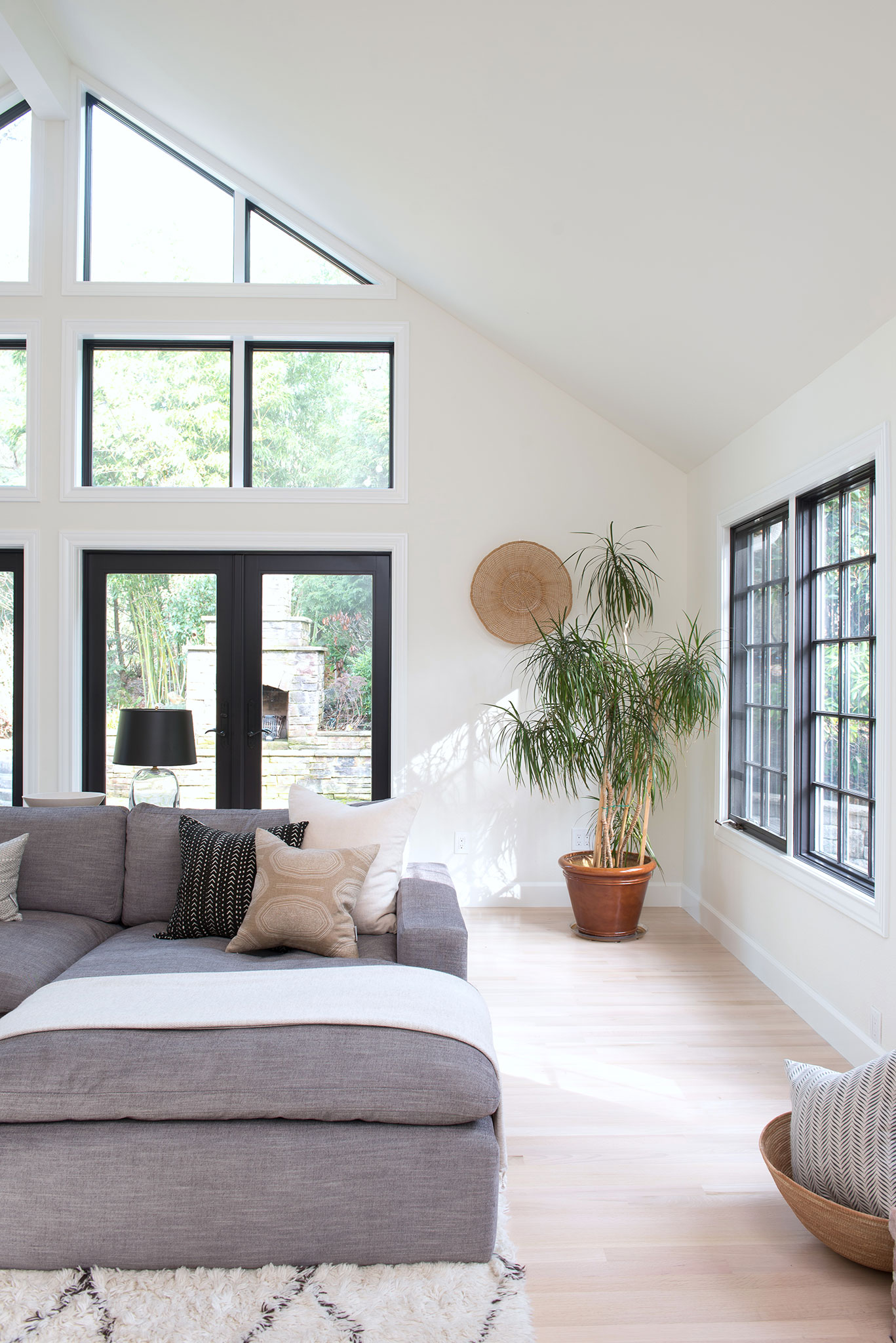 Northwest Hideaway | Amanda Steiner Design | Black Framed Windows