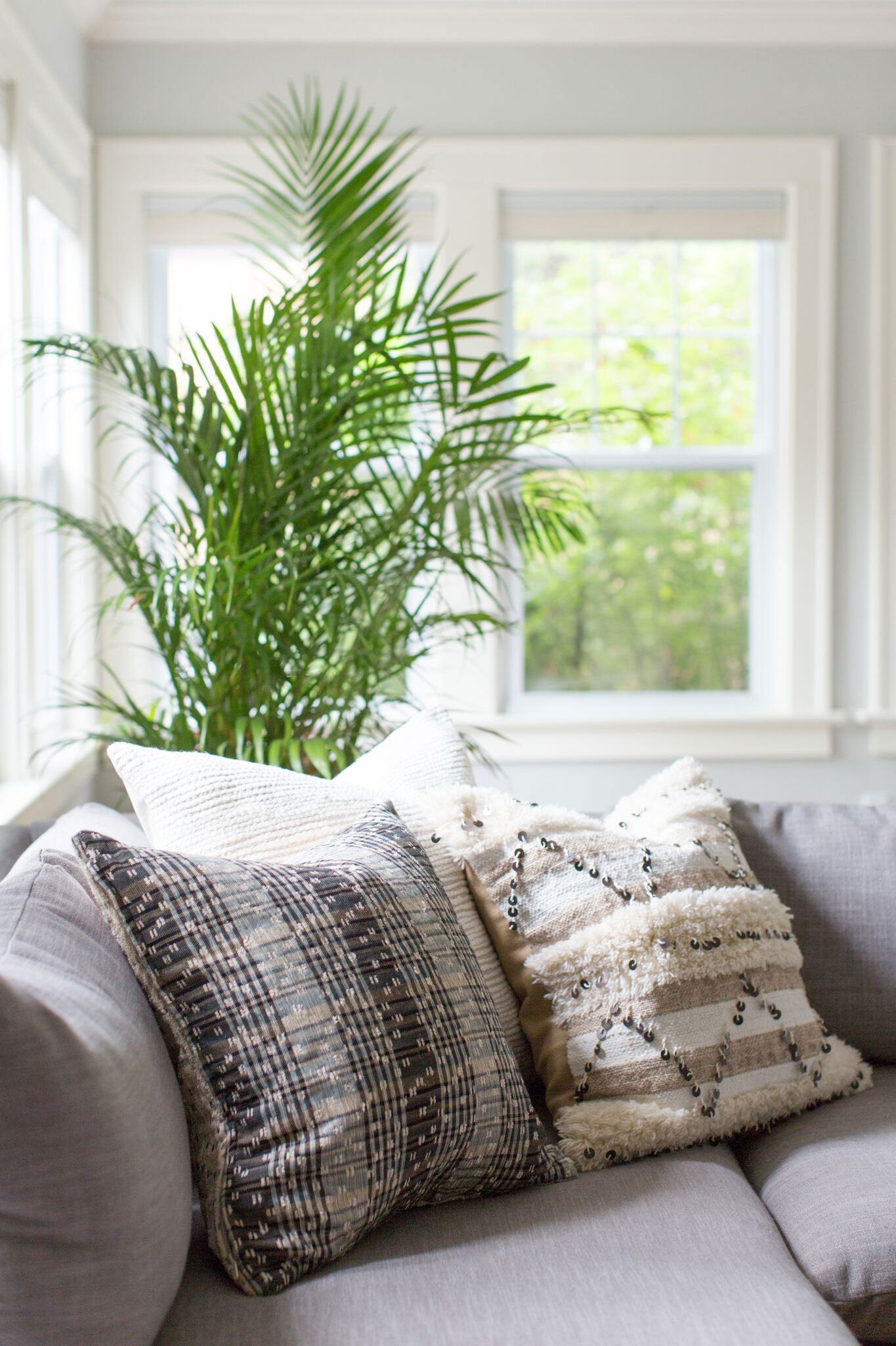 Brookside Living | Amanda Steiner Design and Coveted Home | Throw Pillows