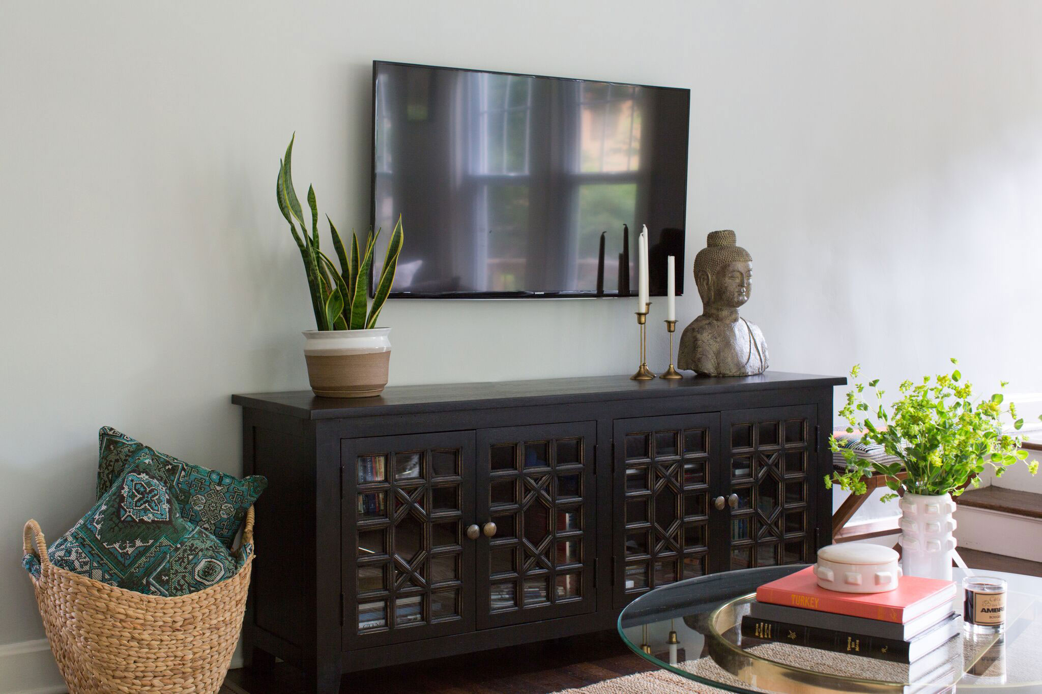 Brookside Living | Amanda Steiner Design and Coveted Home | TV Console