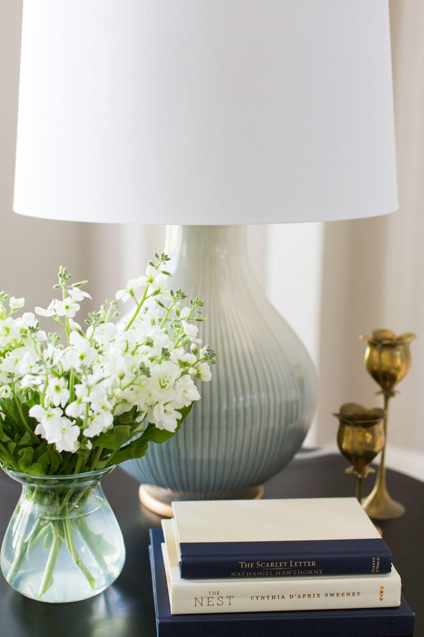 Hallbrook Living | Amanda Steiner Design | Glazed Ceramic Lamp
