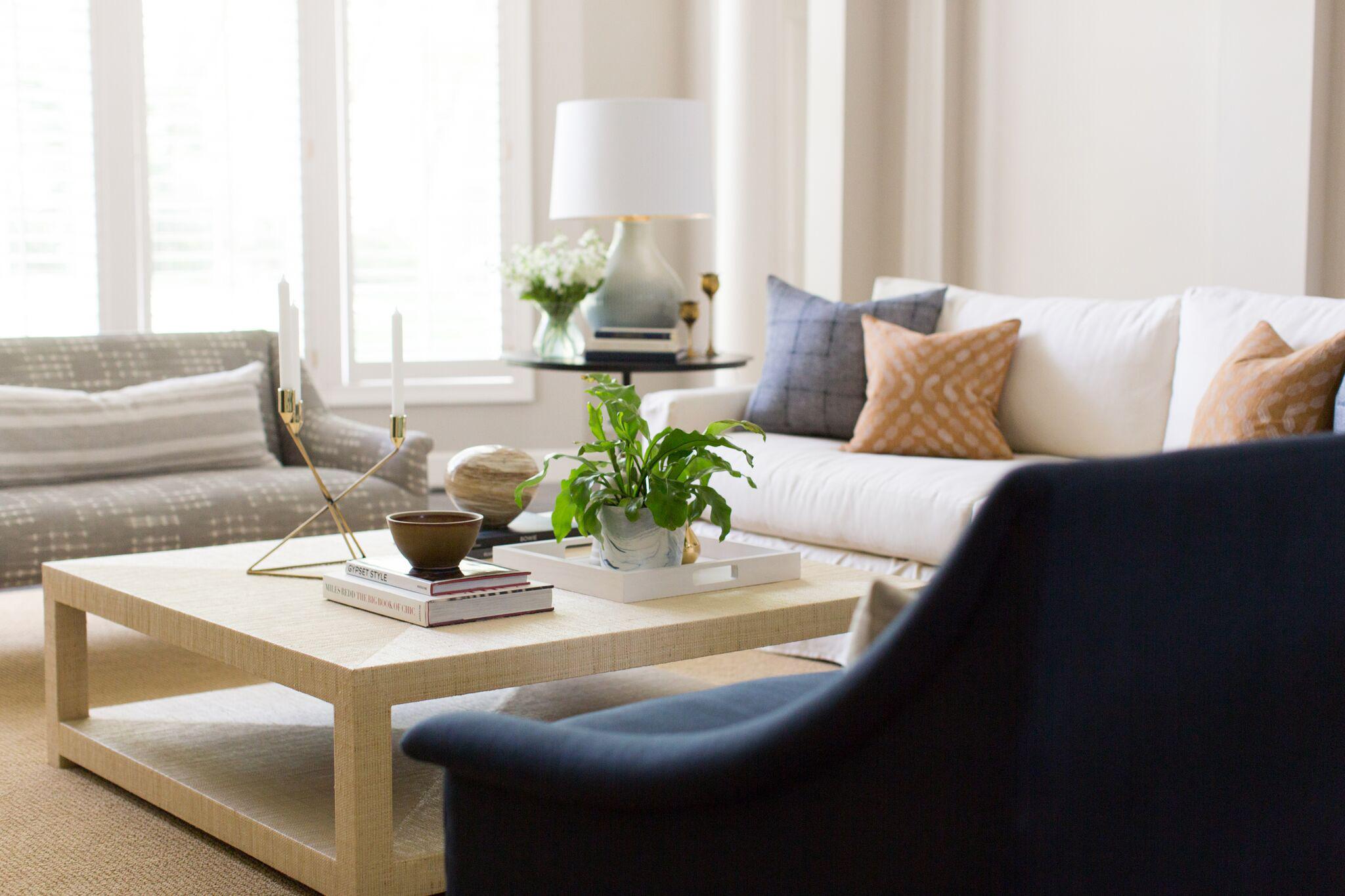 Hallbrook Living | Amanda Steiner Design | Living Room Setting