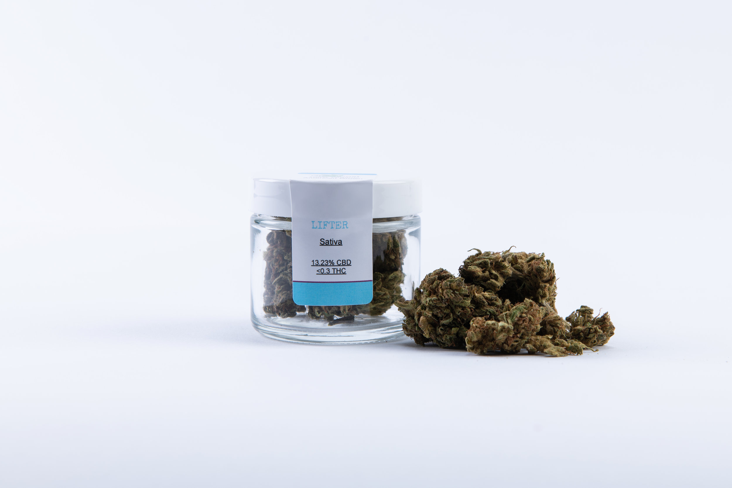 Sativa Organic CBD Hemp Buds 3 5 Grams