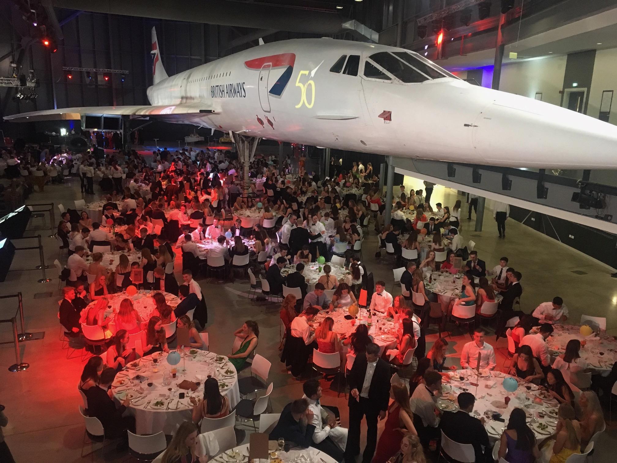 Concorde corporate ball