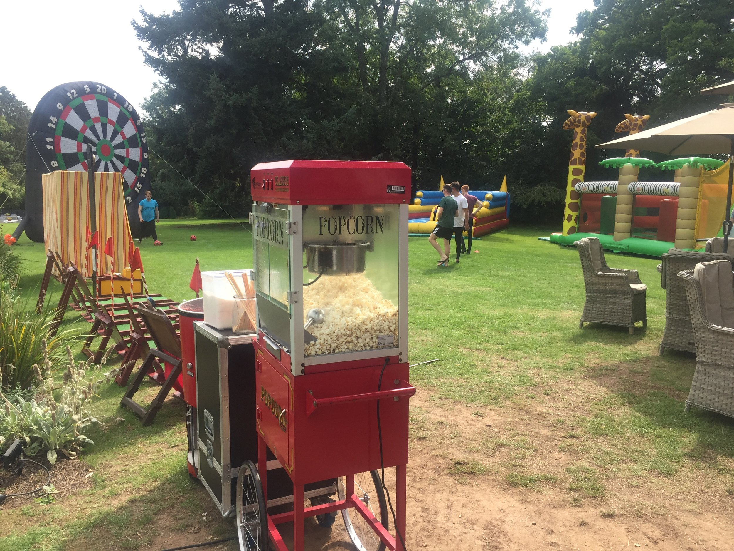 Popcorn & Candyfloss for a private staff party at a country house