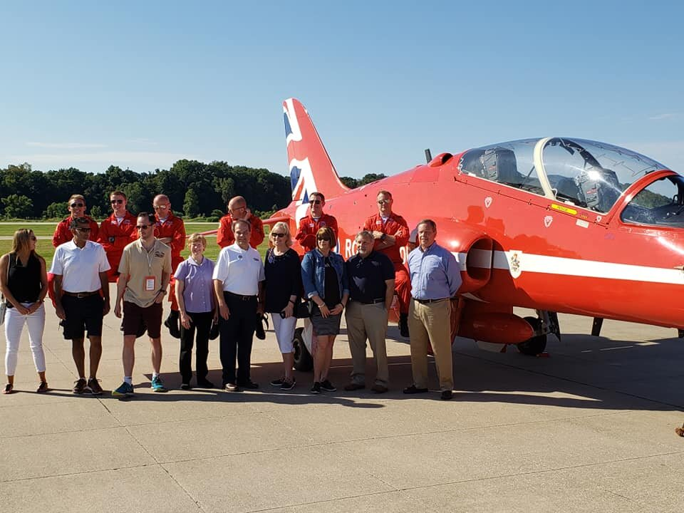 Manchester Homecoming Festival - I was invited by the Royal Air Force to a pre- air show event!