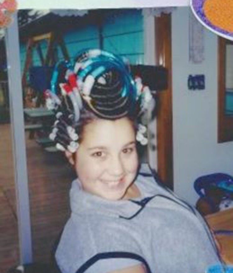 My first Perm 2000, age 12.