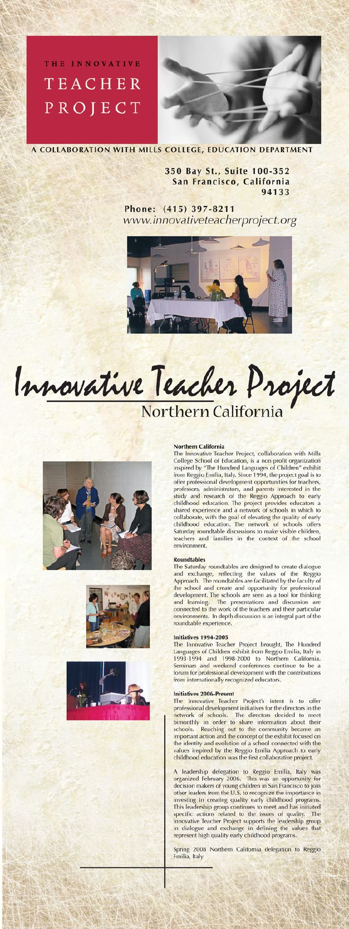Innovative Teacher Project