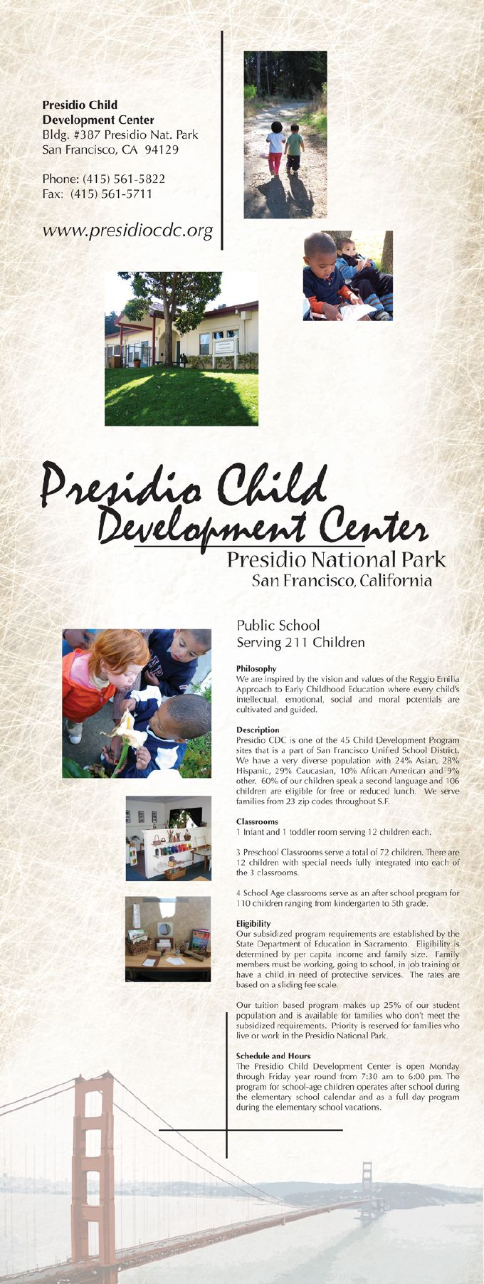 Presidio Child Development Center
