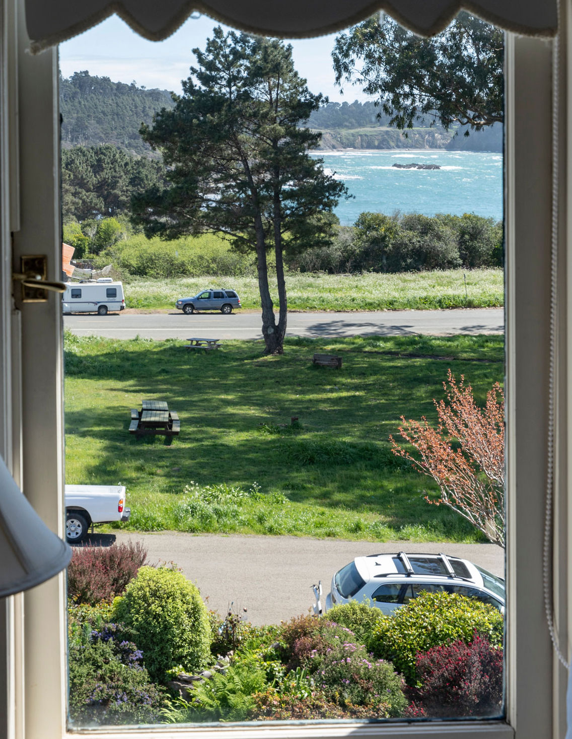 Ocean, Garden, & Village Views -
