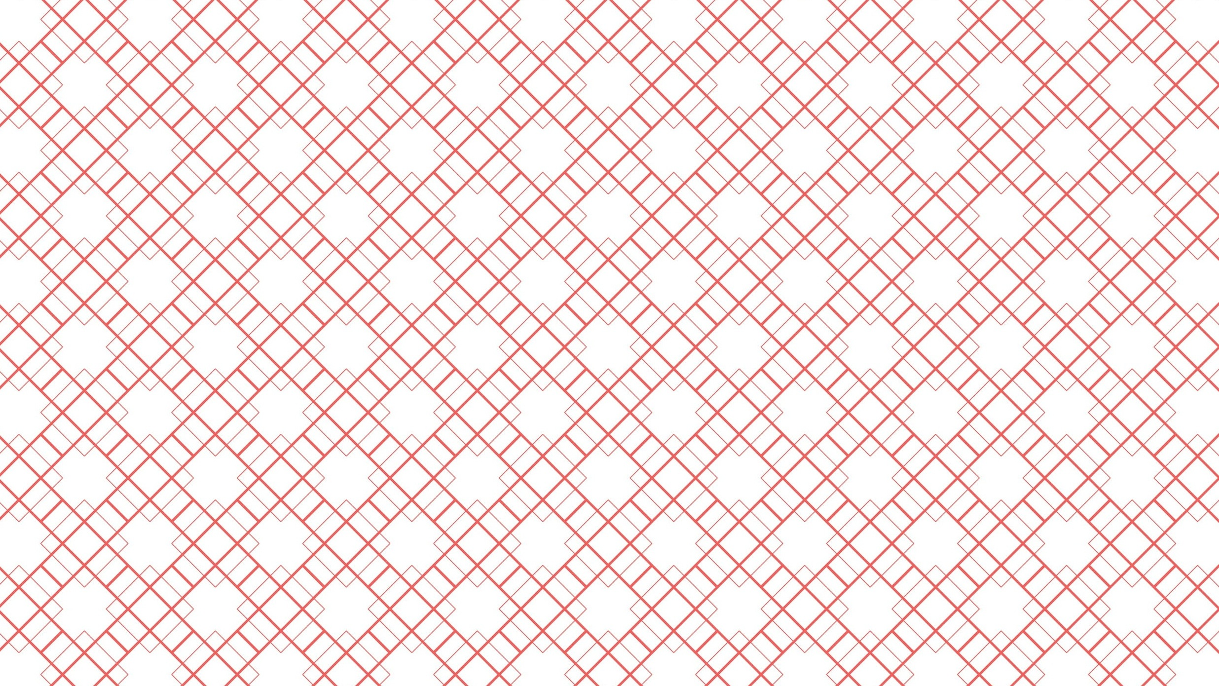 Pattern inspired by traditional Chinese door/window frames.