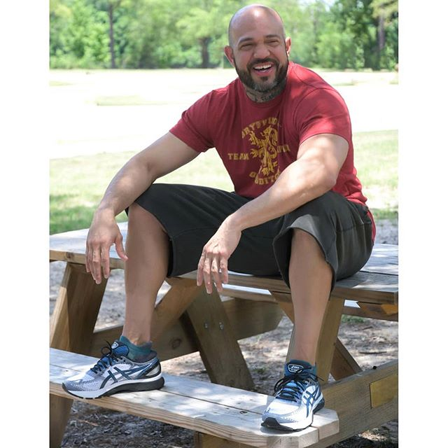 Men's Asics Gel Nimbus 21's. Available in store & online at shopguafit.com 👟