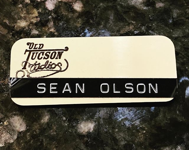 Doing some spring cleaning and ran across this bad boy, my first internship in the industry #oldtucsonstudios #internship #universityofarizona #mediaarts #filmmaking #westernshow