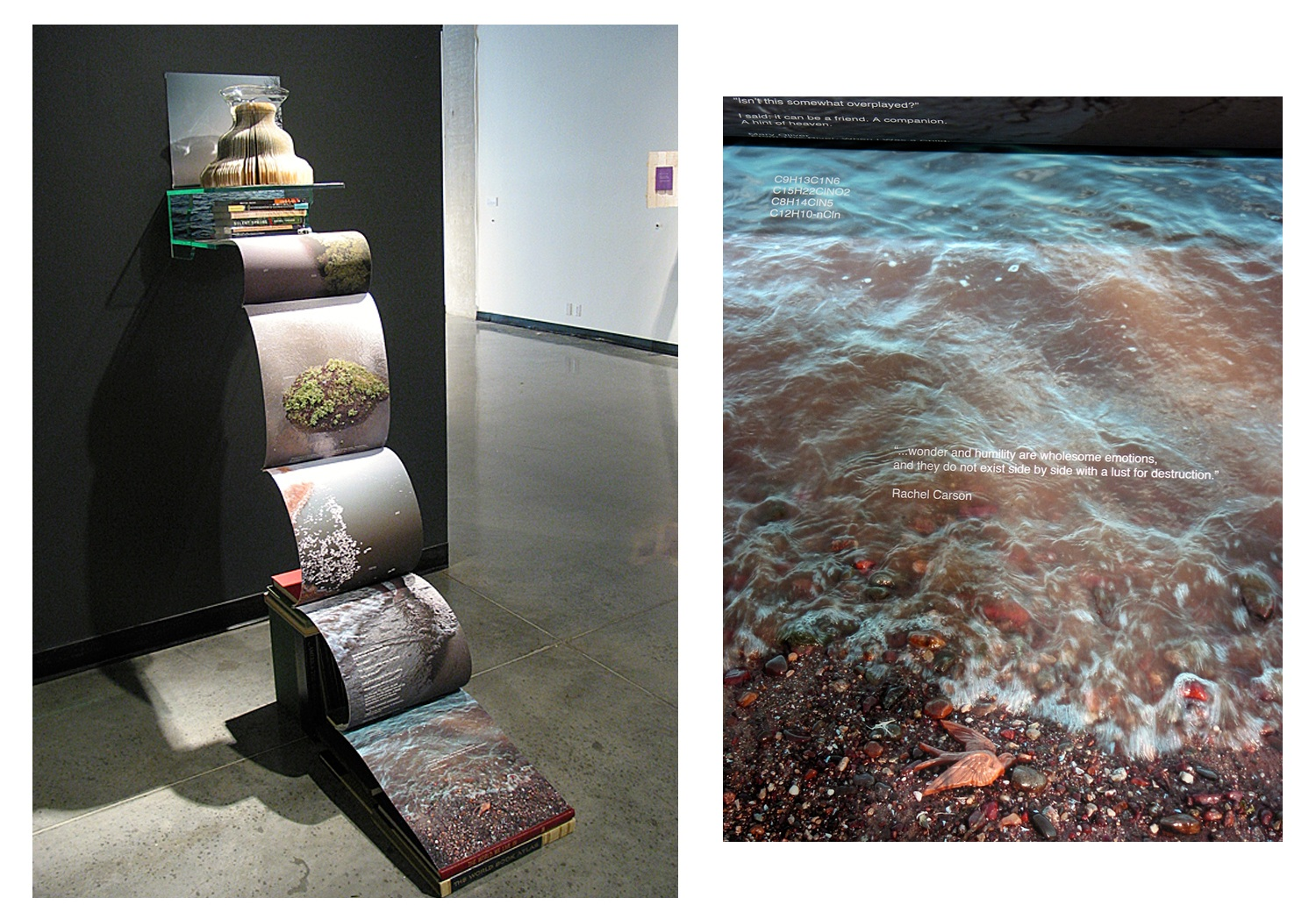 Braided Streams of Local and Global Water Wisdom (Collaboration with Sandra M. Taylor) Nash Gallery University of Minnesota