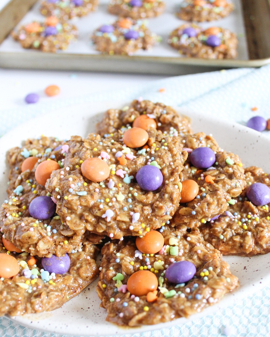 Coconut Peanut Butter No-Bake Cookies