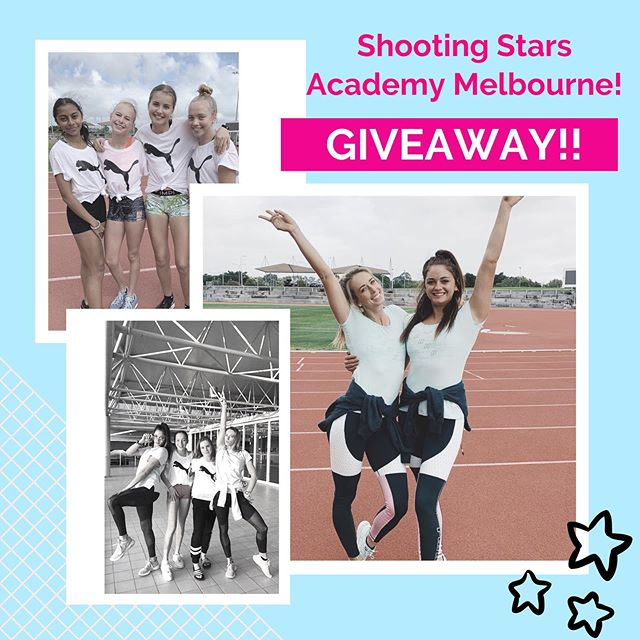 ‼️ MELBOURNE GIRLS ‼️We are giving away 1 spot to our Shooting Stars Academy clinic this Thursday 11th July. All you need to do is send us a DM with your biggest dream that you'd love to achieve one day 💫🌟 Before you enter make sure you are available on Thursday and can get to Lakeside Stadium for the clinic! 🏃♀️The winner will be announced Tuesday afternoon at 3pm! Xx