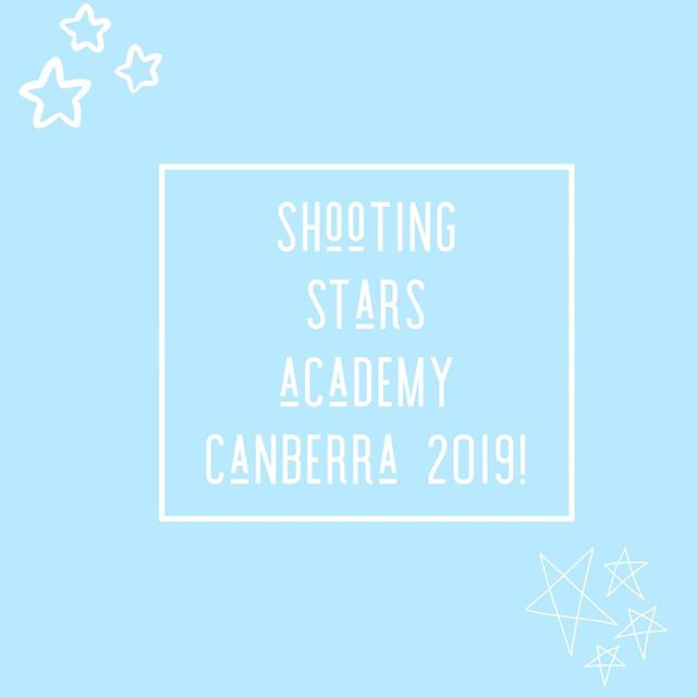 ✨ Our first time taking SSA to Canberra was SO MUCH FUN 🙌 the girls had great sessions and learnt a lot at our seminars! Next stop on our tour 📍MELBOURNE ✨ #shootingstarsacademy
