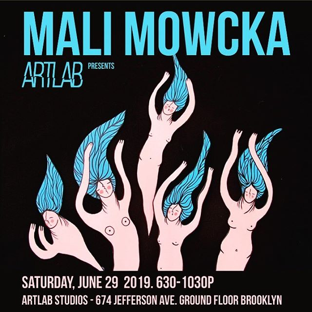 Tomorrow!! We are pleased to announce @mowcka - exciting Spanish street artist exhibiting in Brooklyn! . . . . #brooklynartists #spanishartist #popupgallery #artistsoninstagram #streetart #popup #show #artshow #gallery #paintings #emergingart #artlab