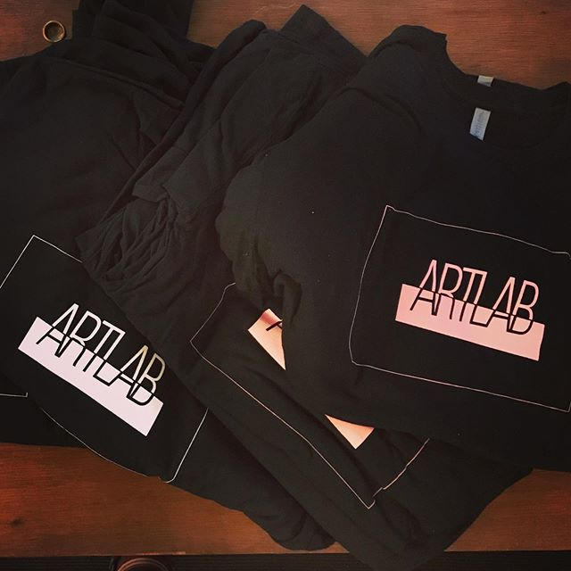 Fresh new #ArtLab merch from the amazing team over @brandmarinade - love these guys! - next show in August!! . . . . . . . . #brooklynart #merch #tees #popupgallery #artgallery #brooklynart #brooklynartist #callforartists #newyork #artshow #artspace #gallery #art
