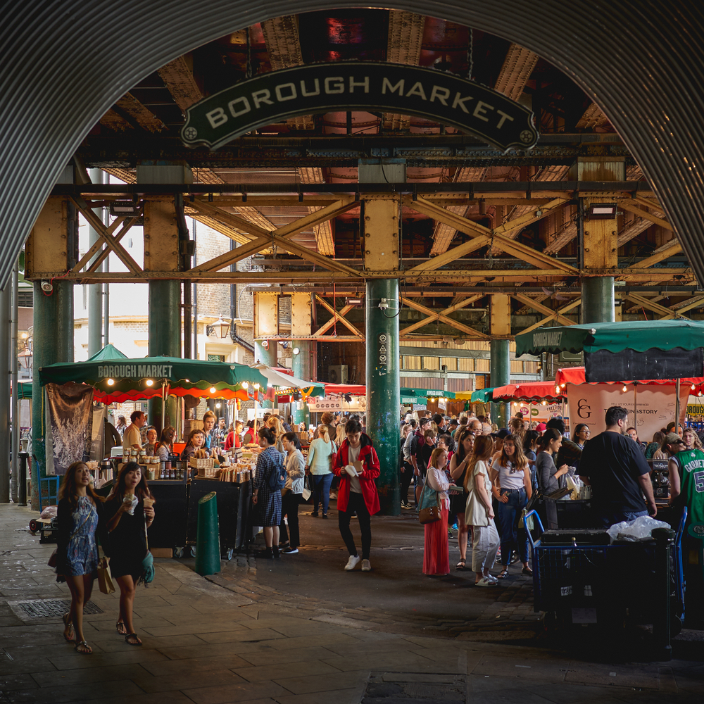 Borough Market in Southwark!