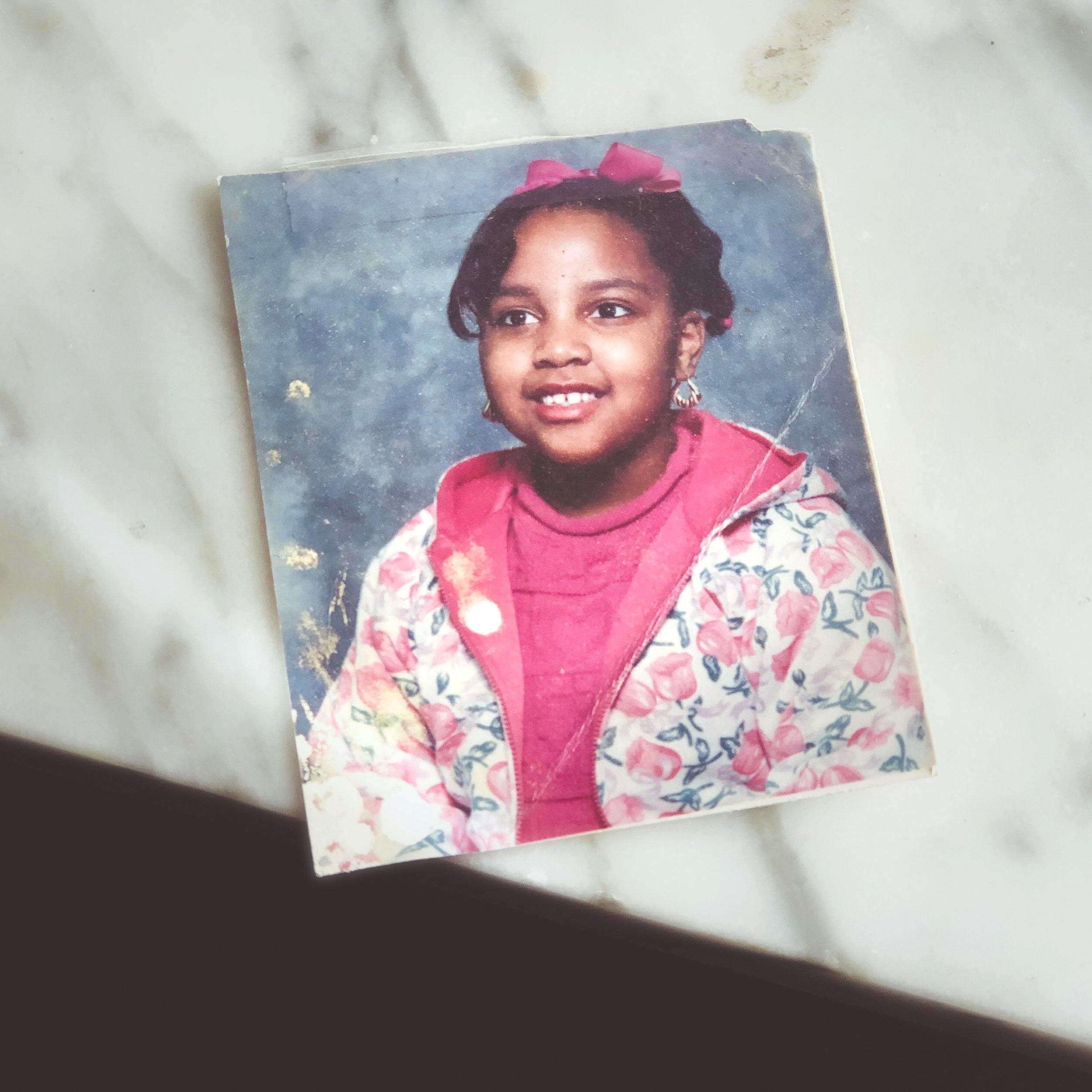 Amber, age 7