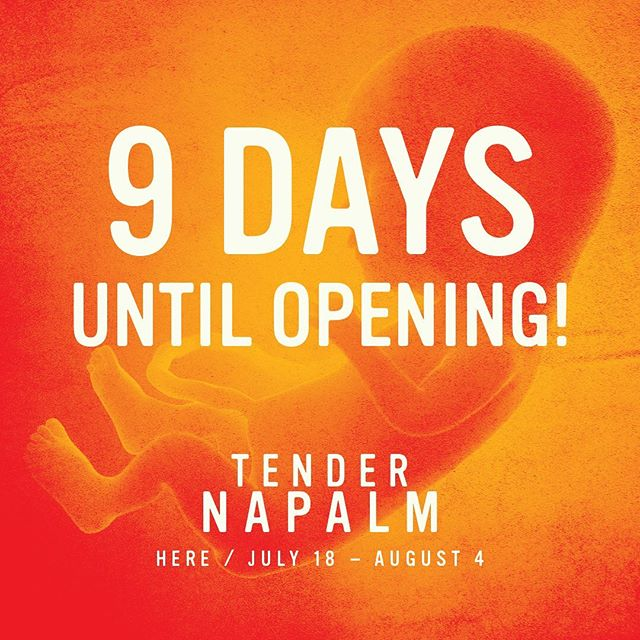 9 Days until Opening Night! Come and Experience TENDER NAPALM this summer @ @herearts - PREVIEWS BEGIN THIS WEEK! Tickets on sale now via the link in bio💫 . . . . . #tendernapalm #blacktheatre #blacktheatrenyc #downtowntheatre #nyctheatre #offbroadway #timeoutnyc #relationshipgoals #lettalkblacklove #blacklove #dancetheatre #subletseries #playbill #blackactors #broadwayblack #philipridley