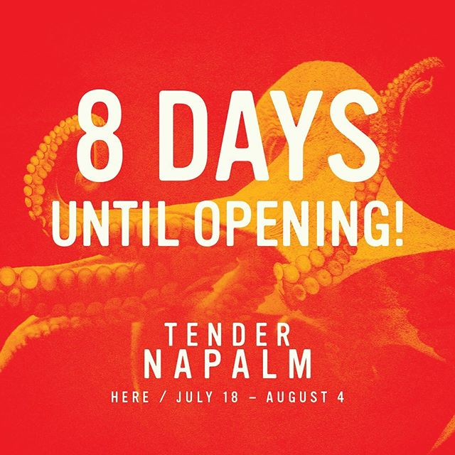 8 Days until Opening Night! Come and Experience TENDER NAPALM this summer @ @herearts - PREVIEWS BEGIN THIS WEEK! Tickets on sale now via the link in bio💫 . . . . . #tendernapalm #blacktheatre #blacktheatrenyc #downtowntheatre #nyctheatre #offbroadway #timeoutnyc #relationshipgoals #lettalkblacklove #blacklove #dancetheatre #subletseries #playbill #blackactors #broadwayblack #philipridley