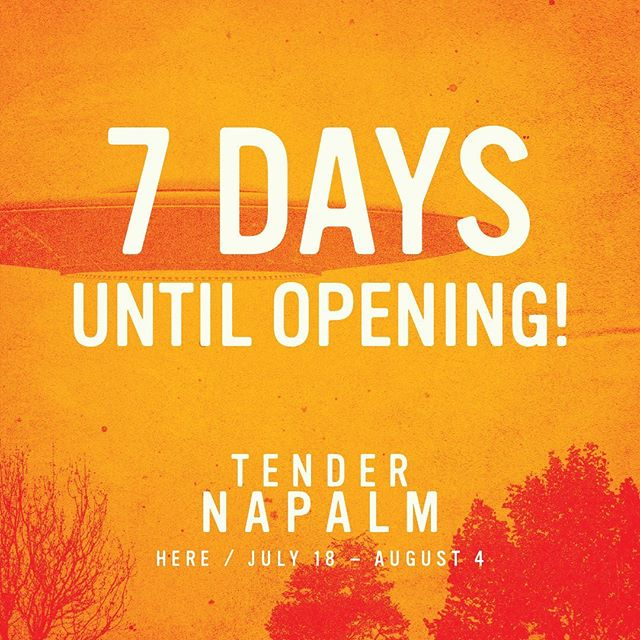 7 Days until Opening Night! Come and Experience TENDER NAPALM at @herearts now - August 4! Tickets on sale now via the link in bio💫 . . . . . #tendernapalm #blacktheatre #blacktheatrenyc #downtowntheatre #nyctheatre #offbroadway #timeoutnyc #relationshipgoals #lettalkblacklove #blacklove #dancetheatre #subletseries #playbill #blackactors #broadwayblack #philipridley
