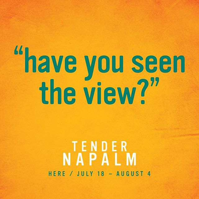 """@tendernapalmnyc There are moments in life when you just have to take a pause and ask """"have you seen the view?"""" Experience TENDER NAPALM: a modern black love story this summer at @herearts . Tickets on sale now via the link in bio💫 . . . . . #tendernapalm #blacktheatre #blacktheatrenyc #downtowntheatre #nyctheatre #offbroadway #timeoutnyc #relationshipgoals #lettalkblacklove #blacklove #dancetheatre #afrofuturism #playbill #blackactors #philipridley #broadwayblack #broadwayworld"""