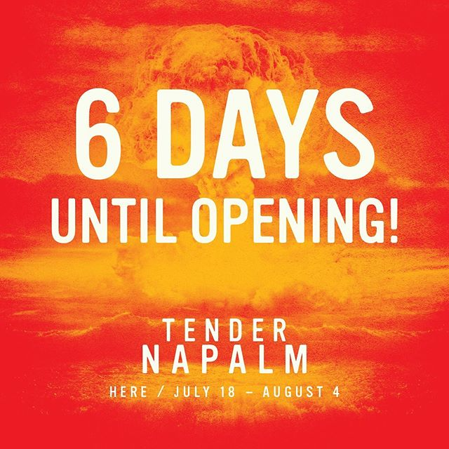 @tendernapalmnyc 6 Days until Opening Night! Come and Experience TENDER NAPALM this summer @ @herearts - Use code TENDERLOVE for discounted preview tickets via the link in bio💫 . . . . . #tendernapalm #blacktheatre #blacktheatrenyc #downtowntheatre #nyctheatre #offbroadway #timeoutnyc #relationshipgoals #letstalkaboutblacklove #blacklove #dancetheatre #subletseries #playbill #blackactors #broadwayblack #philipridley