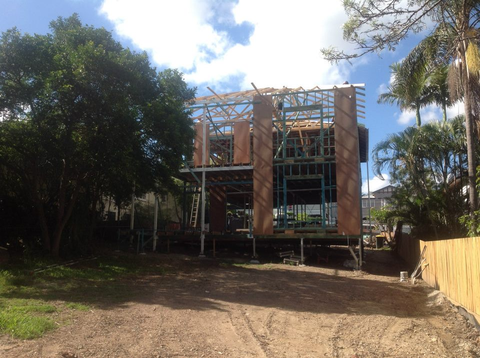 Floor Stage - rear of building