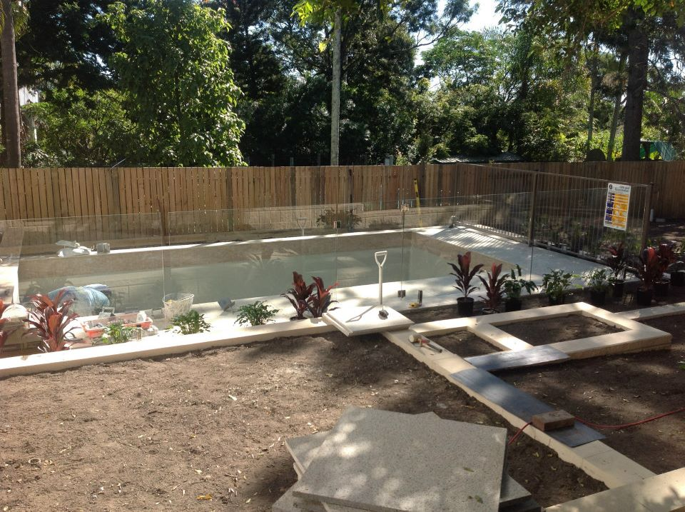 Hardscape landscaping near completion. Stay posted for final completion photos and market details.