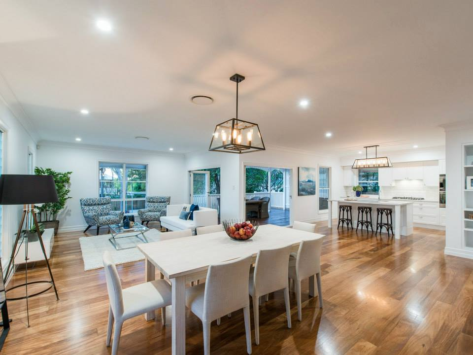 Beautiful open plan living is perfect for the family or entertaining friends.