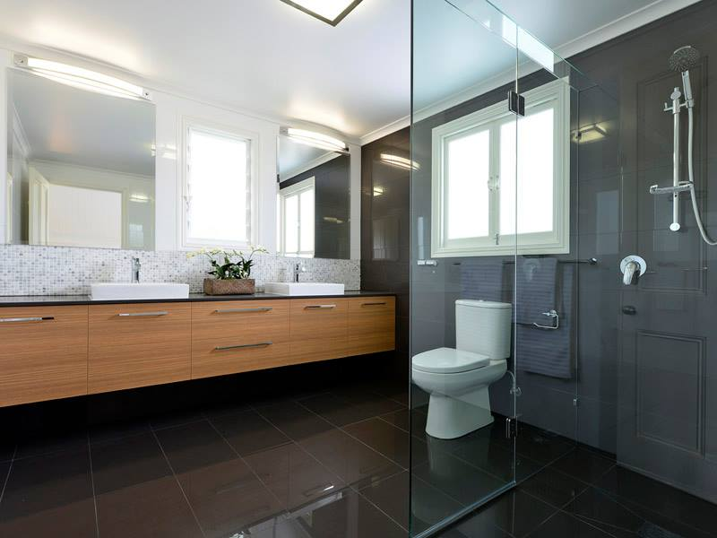 After - Master Bedroom ensuite. Interior decorating by Sally at Creating Style.