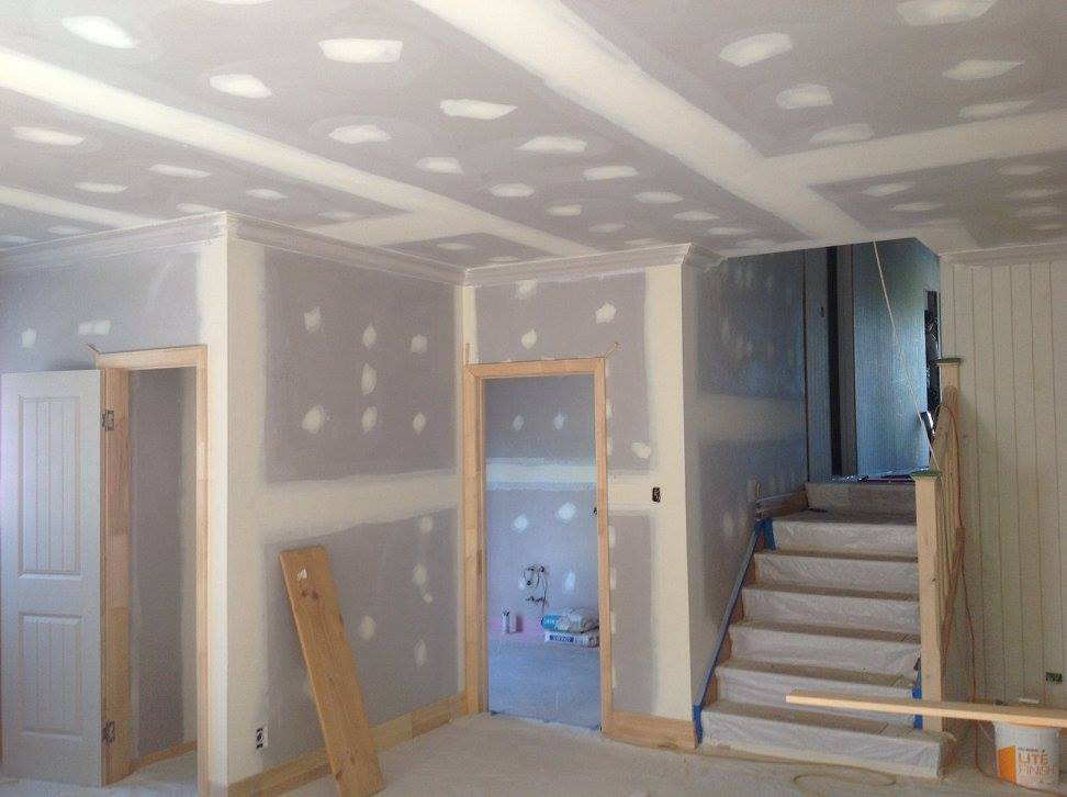 Internal fit out nearing completion ready for the painters.
