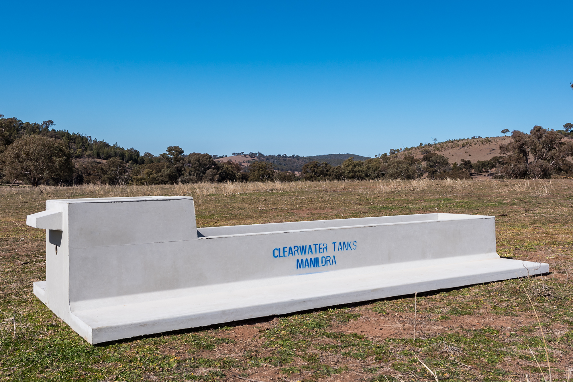 about our troughs - ClearWater Tanks have designed and manufactured our own range of Concrete Stock Water Troughs. The full range of Concrete Stock Water Troughs are manufactured at our factory in Manildra.