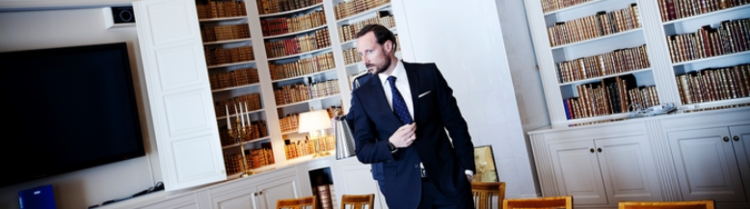 Kronprins Haakon uttaler seg om både elbiler, vannkraft, solenergi og vindkraft i intervjuet med Der Spiegel. Foto: Linda Næsfeldt