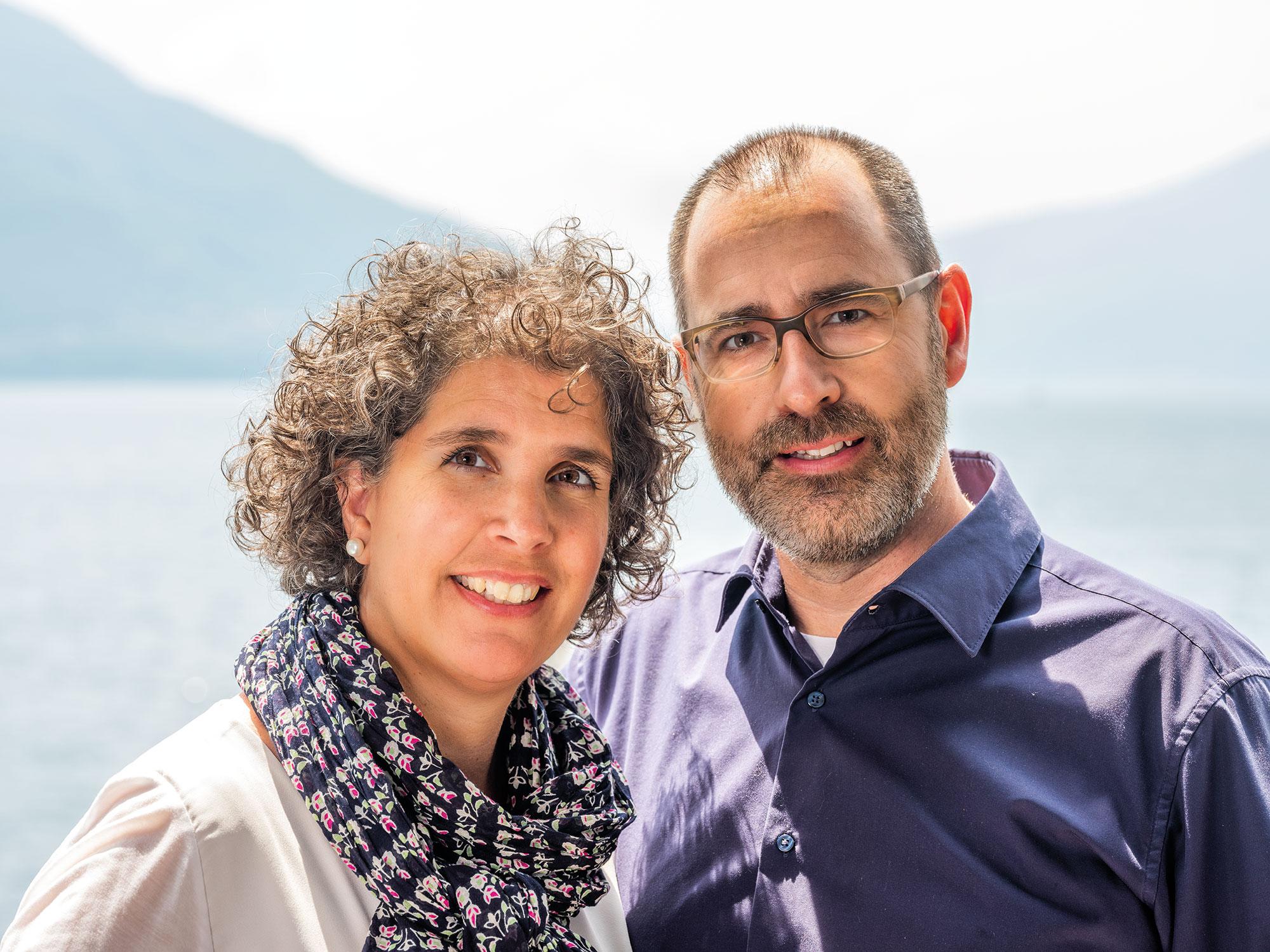 Rebekka und Michel Bieri-Witzig führen die beiden Kurs- und Ferienzentren seit 2012.