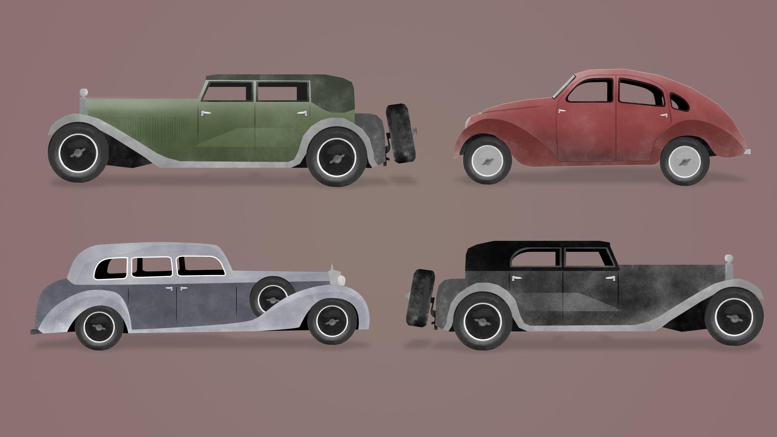 1930'S GERMAN CARS