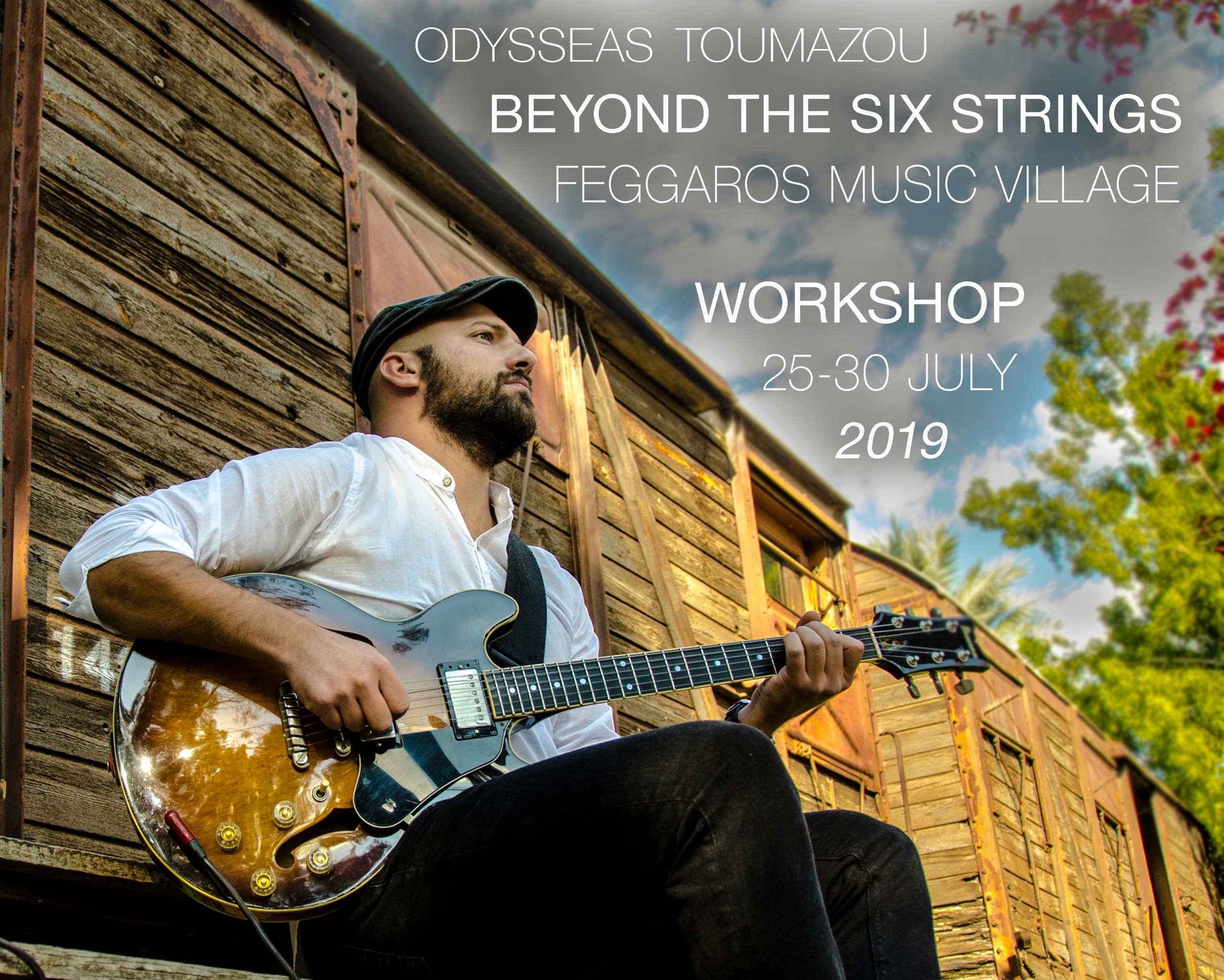 Beyond The Six Strings.  Guitar has been the most popular instrument in the last century but Its construction as an instrument has many limitations but at the same time those limitations give us the sound we all love. What are those limitations? How do we break them down and master them? If you listen to 50 great guitar players, you will hear 50 different ways to play.   My workshop's goal is for the students to explore and discover their own unique way of playing.   Together we will explore hand movement (kinesiology), the visual aspect (playing horizontally, vertically, diagonally), listening practice, solfege (Learning to LISTEN what you see, and to SEE what you listen). Explore traditional and contemporary techniques, (sound - using the fingers productively and using amplifier/effects and pedals) We will expand our knowledge in melodic, harmonic and rhythmic vocabulary and we will go in depth in timing and improvisation. Additionally, through the workshop we will discover a wide range of musical styles and we will deal with the creative practice of all the techniques mentioned above.