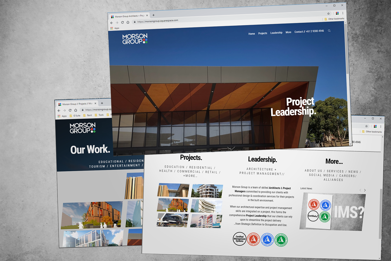 Morson Group is proud to launch a new-look website.