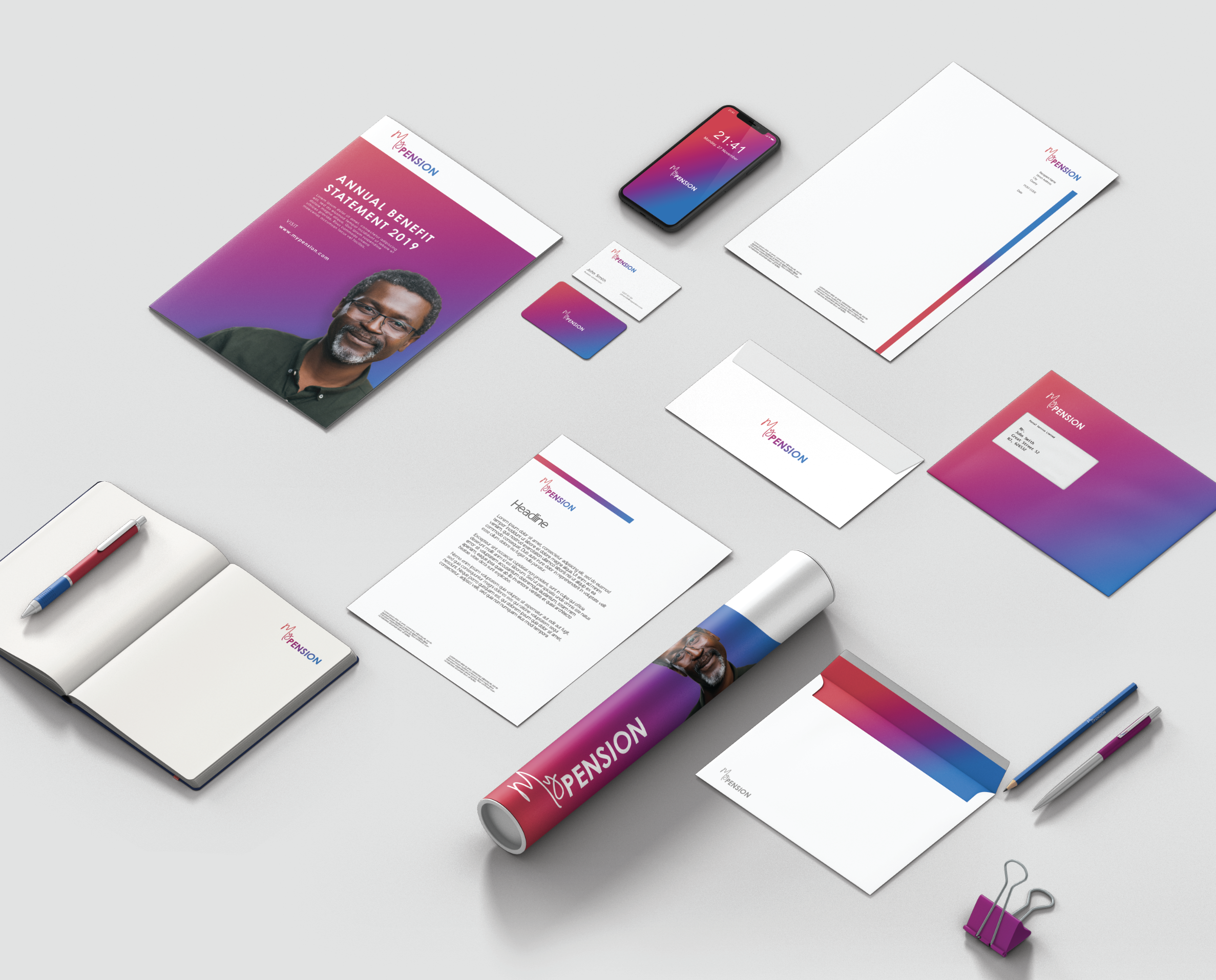 Pension Branding - Creative / Brand Development / Messaging