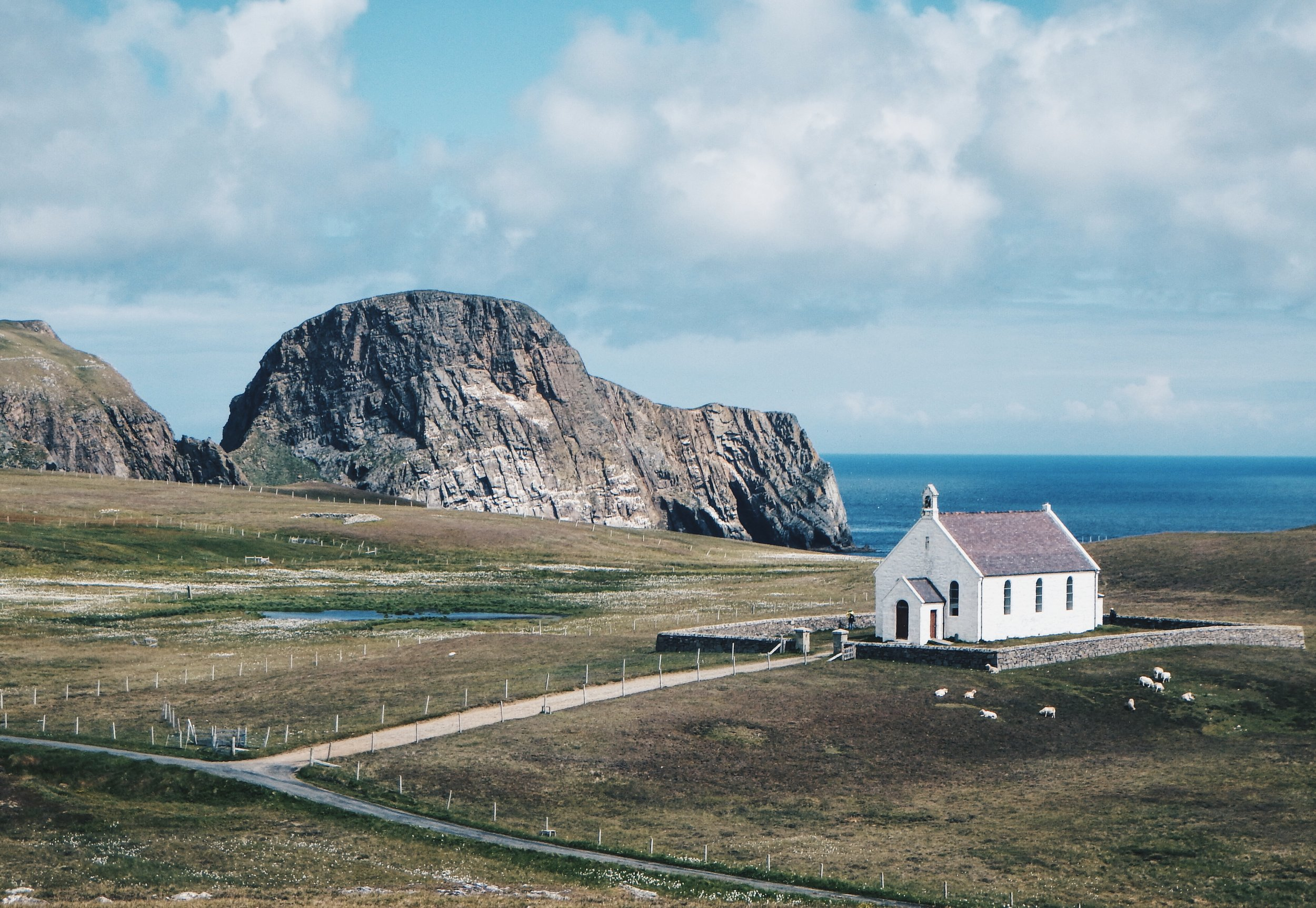 Fair Isle kirk, Digital Photography 2016.JPG