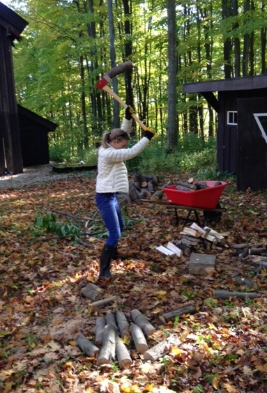 claire-cameron-splitting-wood