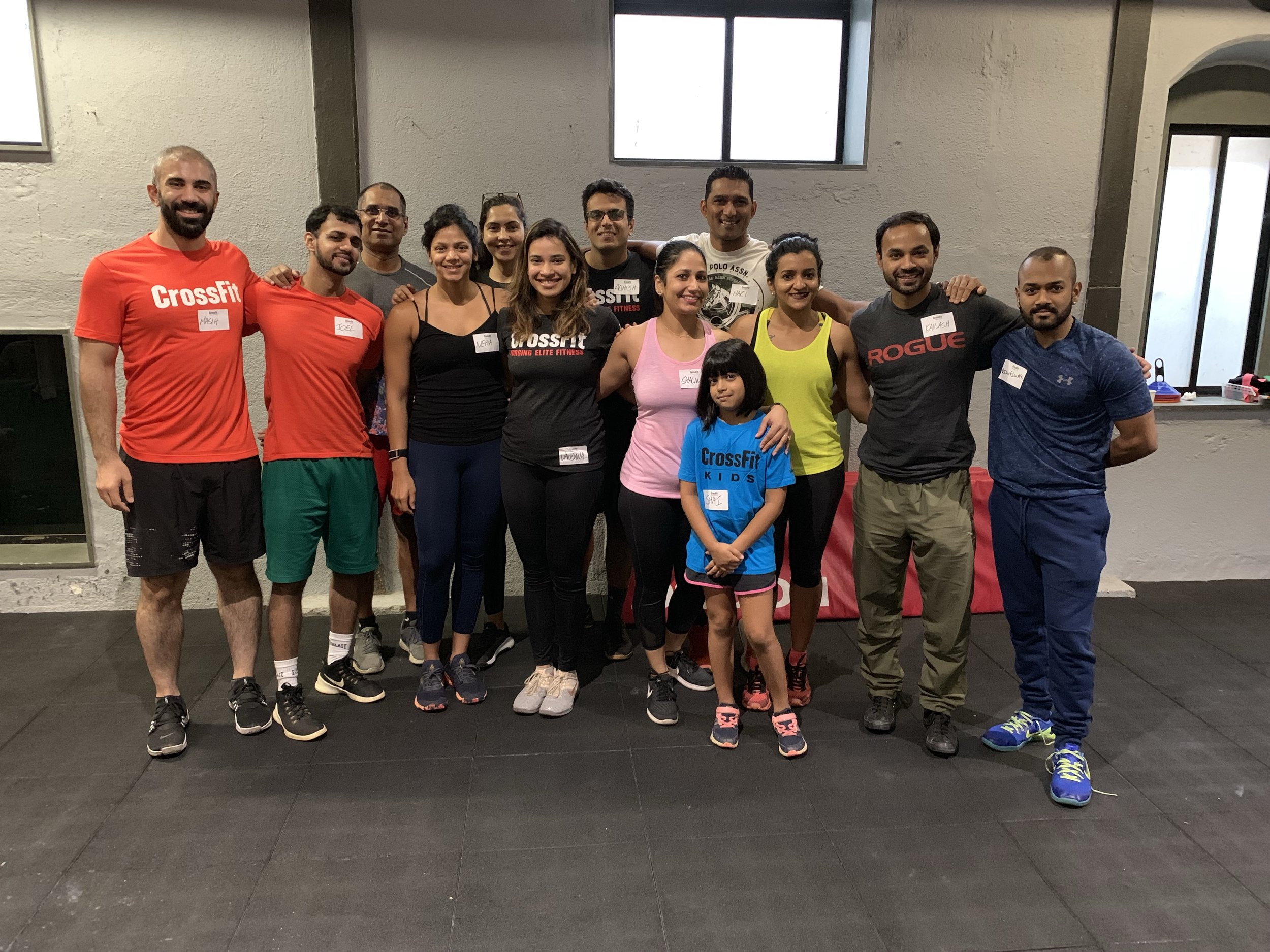 India's First CrossFit Kids Course