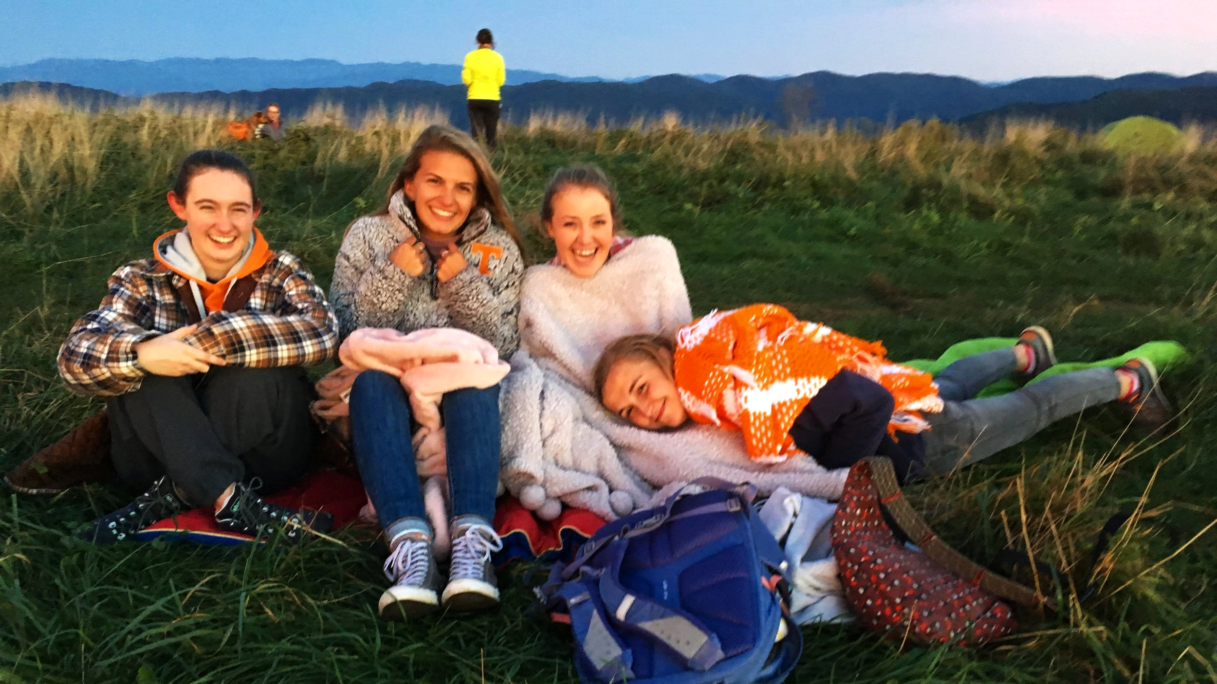 MAX PATCH TRIP - Carpool sing-a-longs, a treck up a hill, ultimate frisbee, a gorgeous sunset, and beautiful stargazing. You don't want to miss this!