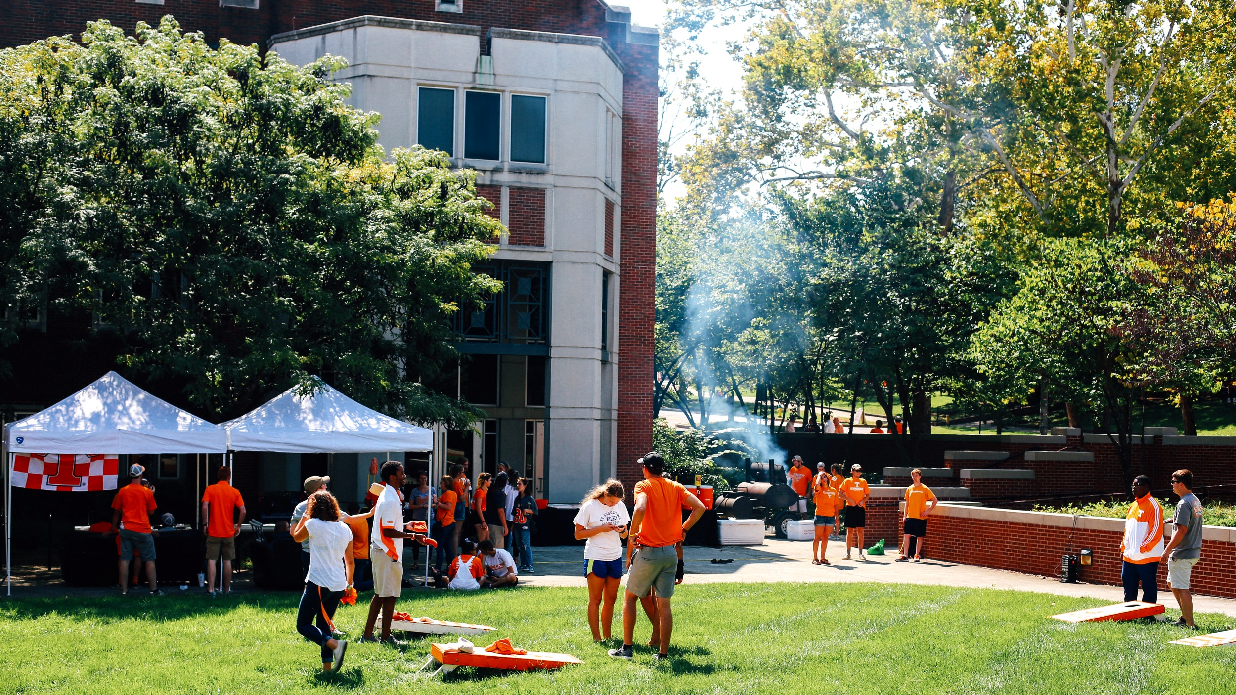 GAME PARTIES + TAILGATES - We bleed orange, sing Rocky Top, and eat fried Gator once a year. Win or lose, we'll cheer on the Vols and have a good time doing it.
